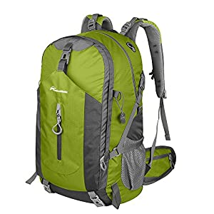 OutdoorMaster Hiking Backpack 50L - Hiking & Travel Backpack w/Waterproof Rain Cover & Laptop Compartment - for Hiking, Traveling & Camping