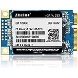 Zheino 120GB msata SSD Q1 Internal mSATA Drive (2D MLC) Solid State Drive For Mini Pc Tablet Pc Laptop and Ultrabooks