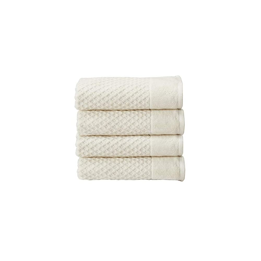 100% Cotton Quick-Dry Bath Towel Set (30 x 52 inches) Highly Absorbent, Textured Luxury Bath Towels. Grayson Collection…