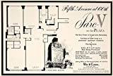 1963 Ad Parc-V On the Plaza Co-op Apartments Fifth