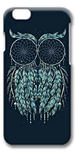 iPhone 6 Case, Personalized Protective Hard 3D Case Cover for New iPhone 6(4.7 inches) - Dream Catch Owl