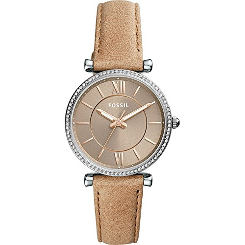 Fossil-Carlie-Three-Hand-Leather-Watch