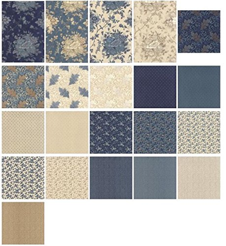 Blue Barn By Laundry Basket Quilts For Moda Fat Quarter