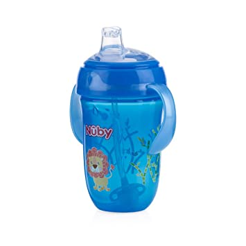 9 Ounce Nuby 360 2 Handle Comfort Cup Boy