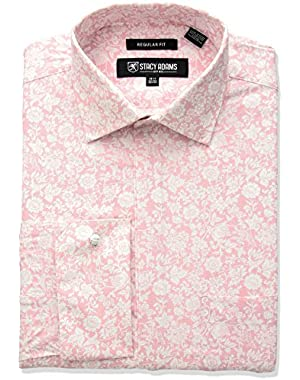 Men's Roses Classic Fit Dress Shirt,