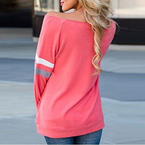 A Longues Femmes E3201205 Shirt T Manches Chemisier pour Kangrunmys WYqwA8P0