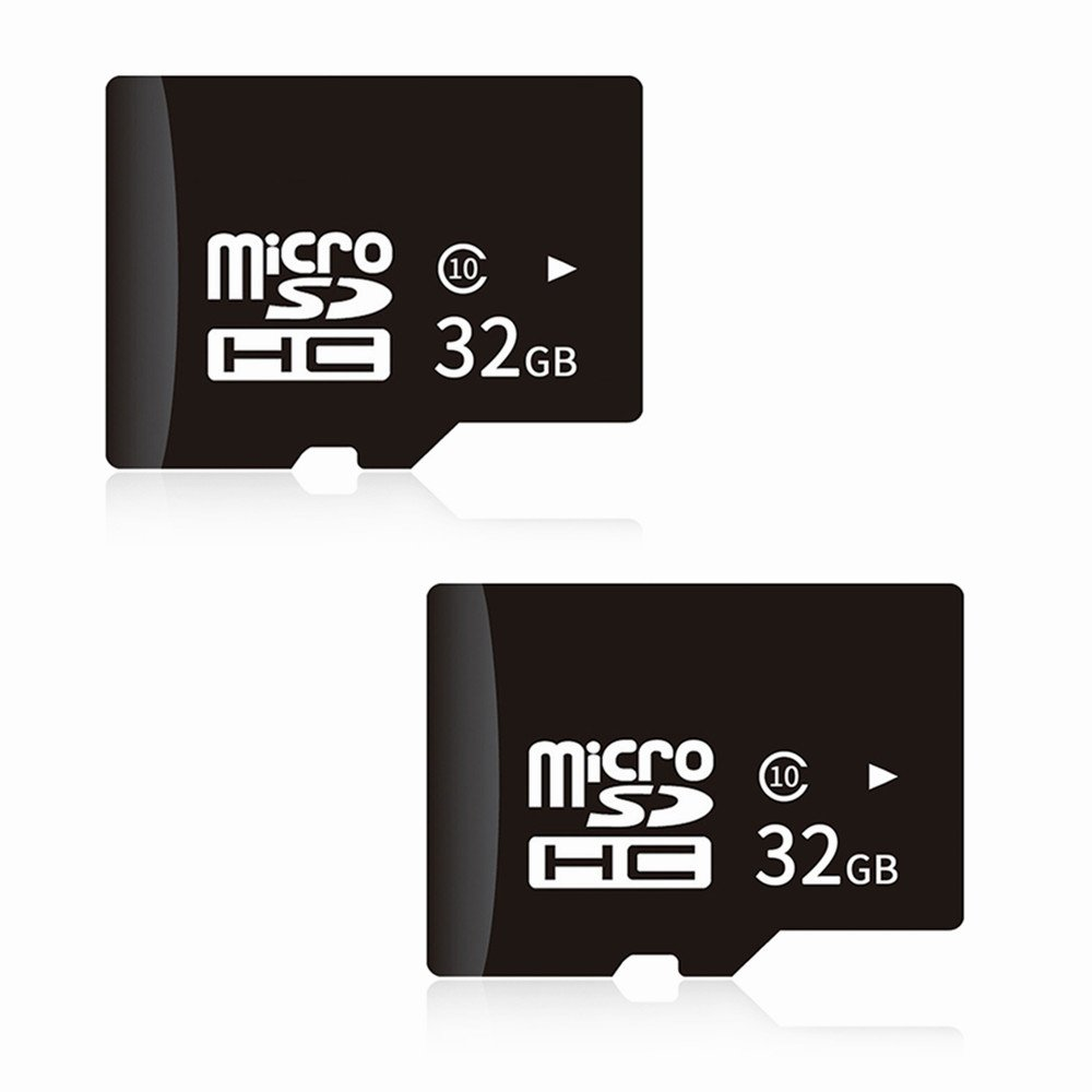 Docooler Micro Memory Card 32G High-Capacity for Samsung Xiaomi Smartphone Tablet High Efficiency High Speed Data Transfer (2 Pack)