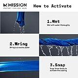 Mission Cooling Hoodie Towel- Hood