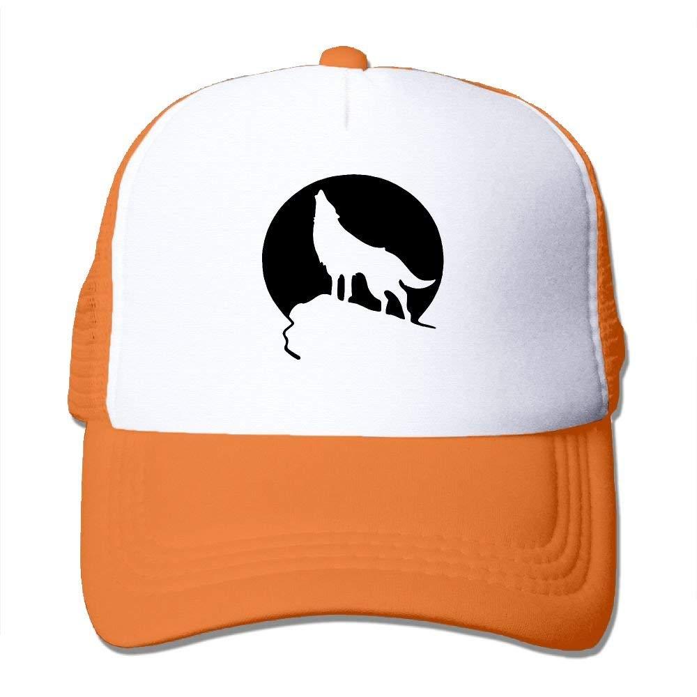Howling Wolf Moon Unisex Sombrero de Malla Gorras de béisbol ...