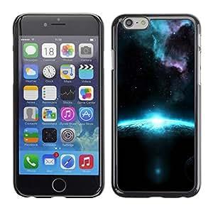 Paccase / SLIM PC / Aliminium Casa Carcasa Funda Case Cover para - Sunrise In Space - Apple Iphone 6