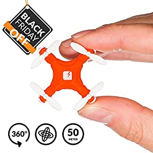 SKEYE Pico Drone - World's Smallest Drone Ever - Remote Controlled - Micro Quadcopter with RTF Technology - One Year Warranty