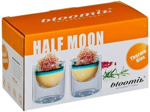 doppelwandige Thermo-Cateringgl/äser im 2er-Set bloomix Half Moon Medium 170ml