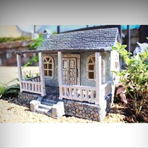 Fairy Garden Miniature Home Sweet Home Fairy House Dollhouse 1656 - My Mini Fairy Garden Dollhouse Accessories for Outdoor or House Decor