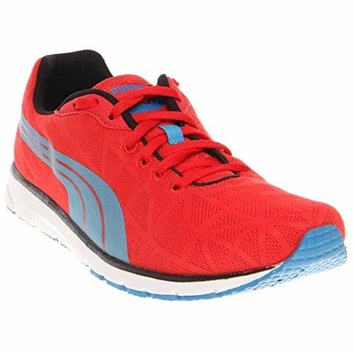 PUMA Men's Narita V2 Running Shoe,High Risk Red/Blue Aster,13 M US