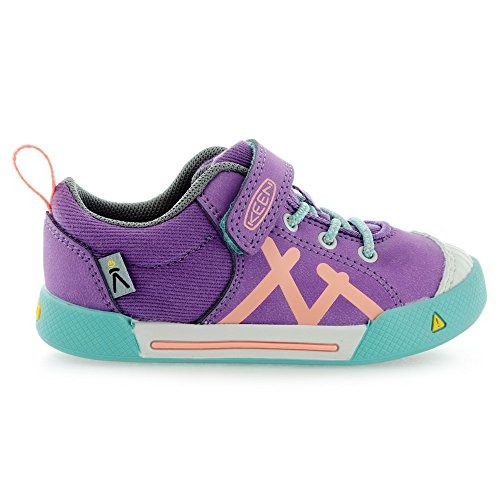 KEEN Encanto Sneaker Shoe (Toddler/Little Kid), Purple Heart/Fusion Coral, 8 M US Toddler by KEEN (Image #3)