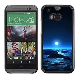 All Phone Most Case / Hard PC Metal piece Shell Slim Cover Protective Case Carcasa Funda Caso de protección para HTC One M8 planet alien winter space universe life