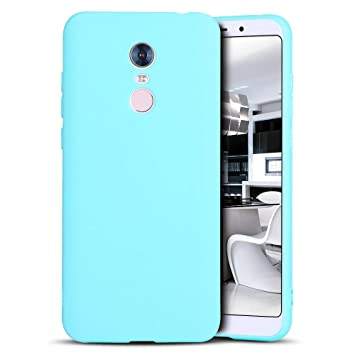 Funda Redmi 5 Plus, Mosoris Mate Superficie (Anti-Huella ...