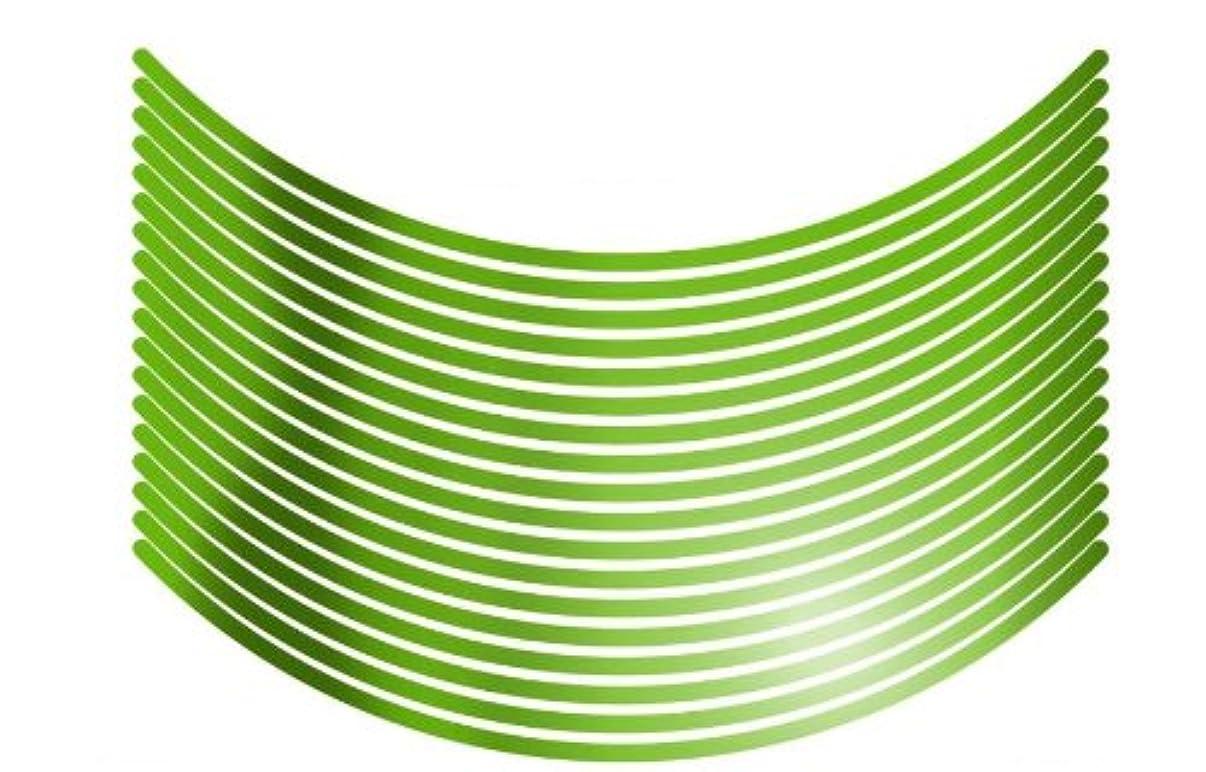 比類のない修羅場ソロ東洋マーク 14インチから19インチのホイール形状に合った曲線カットでぴったりフィット! ホイールフィットテープ 反射イエロー WF-1