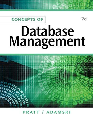 Concepts of Database Management (Best Relational Database Management System)