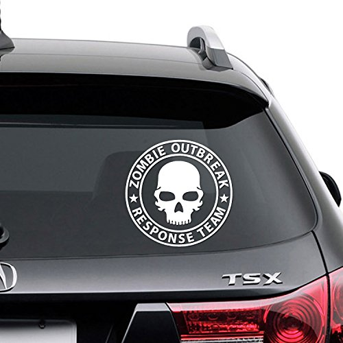 Zombie Outbreak Response Team Funny Logo Vinyl Decal Sticker ZO-03
