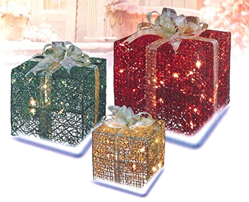 My Top 6 Outdoor Christmas Decorations Lighted Gift Boxes - Lighted Christmas Boxes