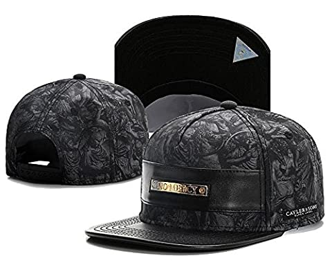 2016 NEW Fashion Men's bboy Hip Hop adjustable Baseball Snapback Hat cap Black - Nba Jazz Lamp