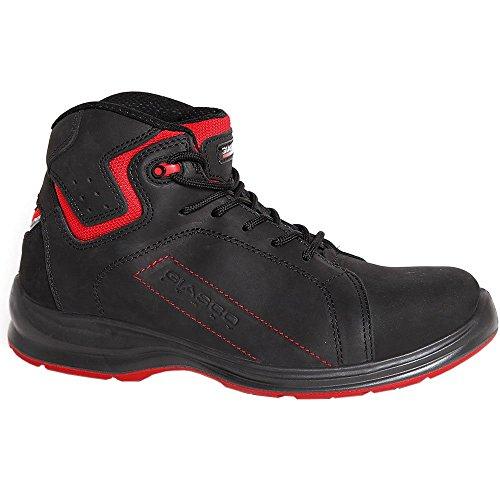 Giasco - Calzado de protección para hombre multicolor negro/rojo 46 EU