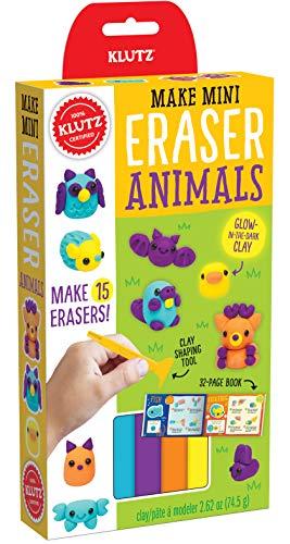 Mini Star Erasers - Klutz Make Mini Eraser Animals Craft Kit