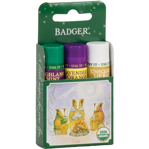 BADGER Classic Lip Green Gift 3Pk, 1 Each