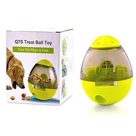 Q7S - Dispensador de Comida para Perro, Gato o Mascota, tamaño Grande
