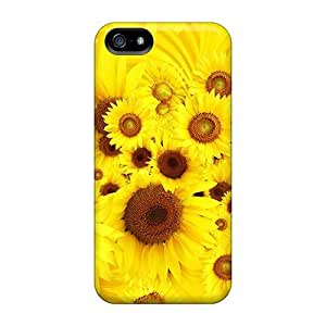 Hot New Cool Sunflowers Case Cover For Iphone 5/5s With Perfect Design