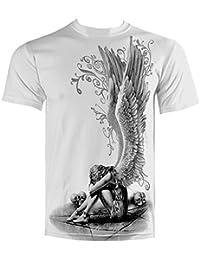 Direct Mens Enslaved Angel T Shirt