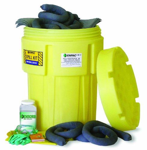 Enpac 1360-YE 83 Piece 65 gallon Universal Salvage Drum Spill Kit by Enpac