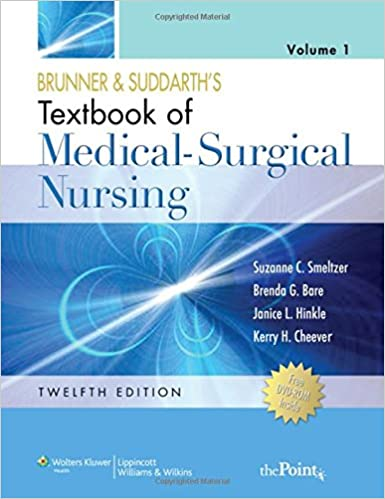 Buy brunner and suddarths textbook of medical surgical nursing 2 buy brunner and suddarths textbook of medical surgical nursing 2 volume set book online at low prices in india brunner and suddarths textbook of fandeluxe Choice Image