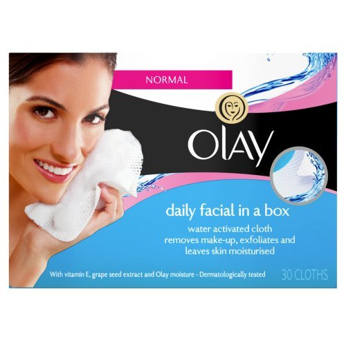 Facial Refill Cleansing Cloths - Olay Daily Facials Cleansing Cloths Refill Pack, Normal to Dry - 30 ea
