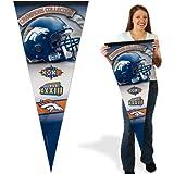 Wincraft Denver Broncos 17x40 Super Bowl Champions Premium Pennant
