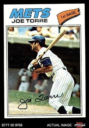 Amazoncom 1977 Topps 425 Joe Torre New York Mets Baseball Card