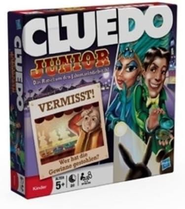 Hasbro 02013100 - Cluedo Junior (edición en alemán) [Importado de ...