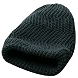 Men NEW Reversible Design Autumn Soft Knitting Beanie Cap