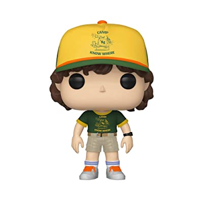 Funko Pop! Television: Stranger Things - Dustin (at Camp), Multicolor: Toys & Games
