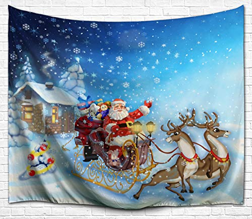 Christmas Decorations Tapestry Wall Hanging by IMEI, 3D