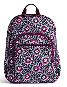 Vera Bradley, Campus Tech Backpack - Lilac Medallion