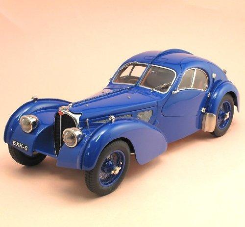 1/18 ブガッティ タイプ 57SC アトランティック 1937 ブルー M-083