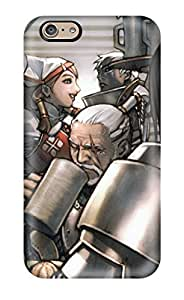 For Iphone 6 Tpu Phone Case Cover(monster Hunter Anime)