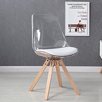designetsamaison chaise scandinave transparente helsinki - Chaise Transparente