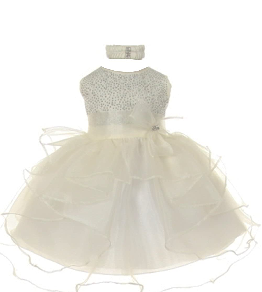 860499de87f Top 10 wholesale Ivory Organza Flower Girl Dresses - Chinabrands.com
