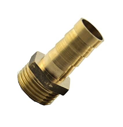Amazon com: Fitting Metric M16 M16X1 5 Male to Barb Hose ID