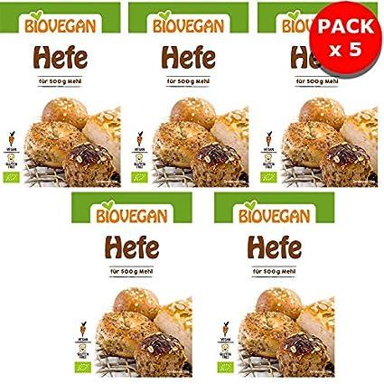 Levure De Boulanger Bio Sans Gluten Qualité Professionnelle Lot De 5 x 9g BioVegan - Levure