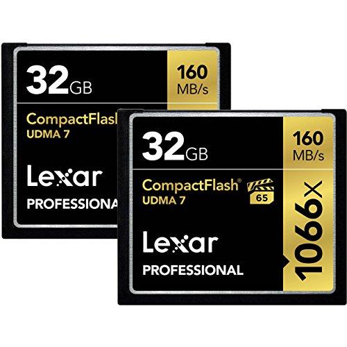 Lexar Professional 1066x 32GB CompactFlash card LCF32GCRBNA1