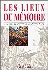 Les Lieux de mémoire, tome 3 par Ageron
